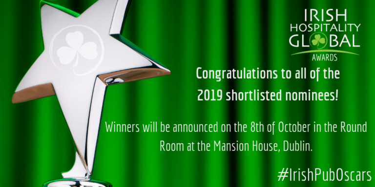 Congratulations to the 2019 nominees of the Irish Hospitality Global Awards