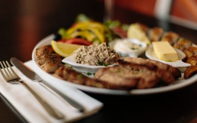 Mackerel platter
